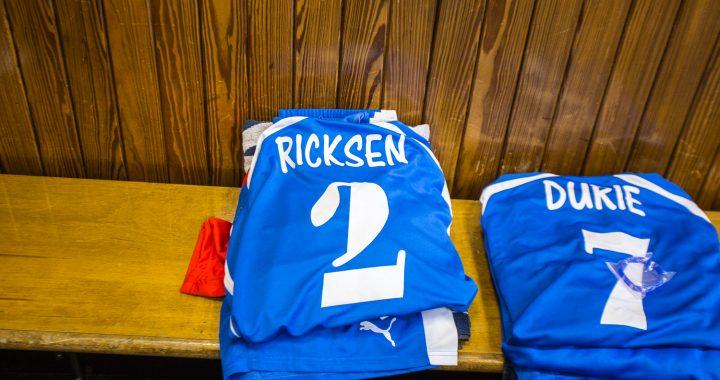 Testimonial Ricksen in Glasgow