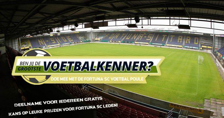 Fortuna SC WK-voetbalpoule 2018!