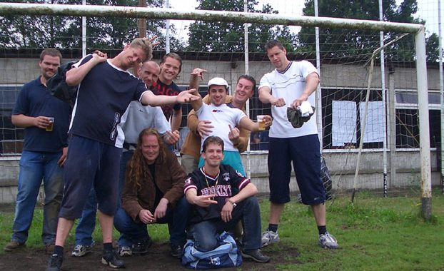 2004: DD-Cup in Belgie met old-skool Party