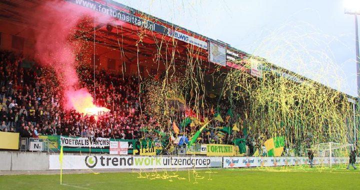 Fortuna Fans zetten positieve sfeer neer!