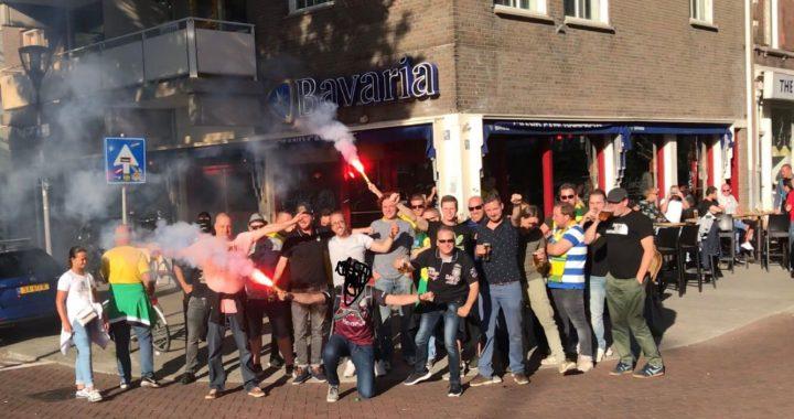 Fans vieren hele dag feest in Rotterdam!