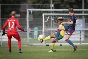 Jong Fortuna wint overtuigend van Jong FC Eindhoven: 4-0