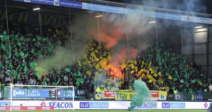 Unieke sfeerbeelden Fortuna Sittard (fan) beleving tegen Ajax