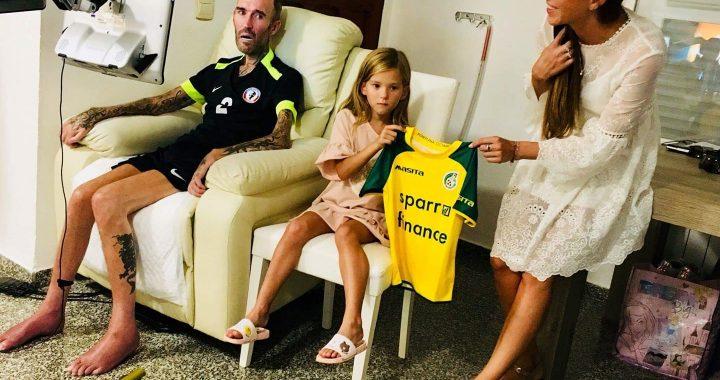 Fernando wil erbij zijn tegen Ajax thuis.