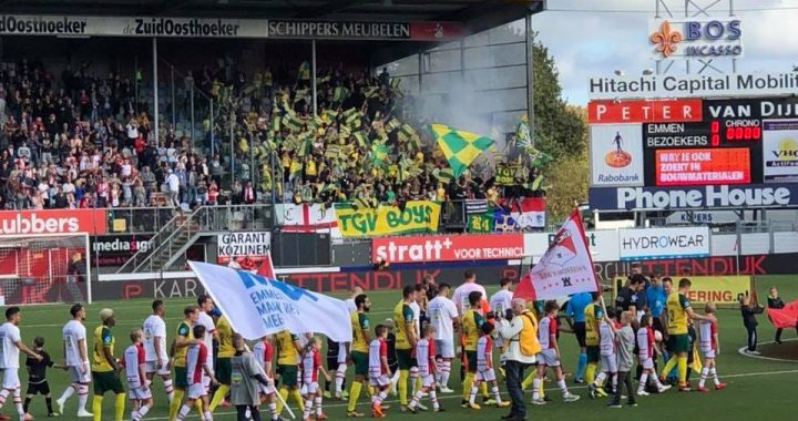 "Fortuna Sittard morele winnaar na gelijk spel in ""dying seconds"""
