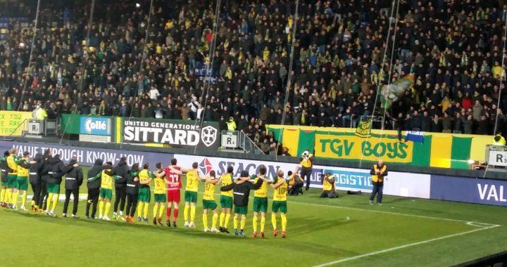 Stokkers symbool voor opmars Fortuna Sittard: 3-0
