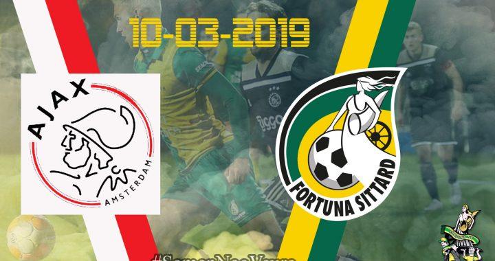 Ajax-Fortuna Sittard: Samen Nao Veure!