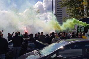 Fortuna fans vieren weer een jaar eredivisie!