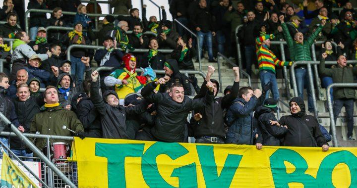 Eerste uitwedstrijd: AZ Alkmaar!