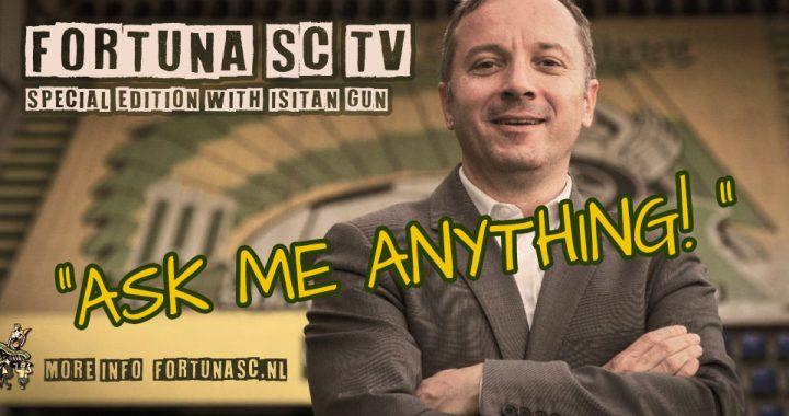 Stel je vraag rechtstreeks aan Isitan Gun via Fortuna SC TV!