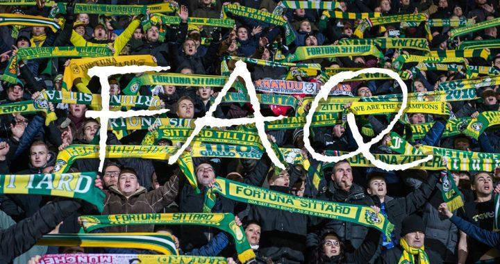 FAQ over lidmaatschap, clubcard, busreizen en fanshop