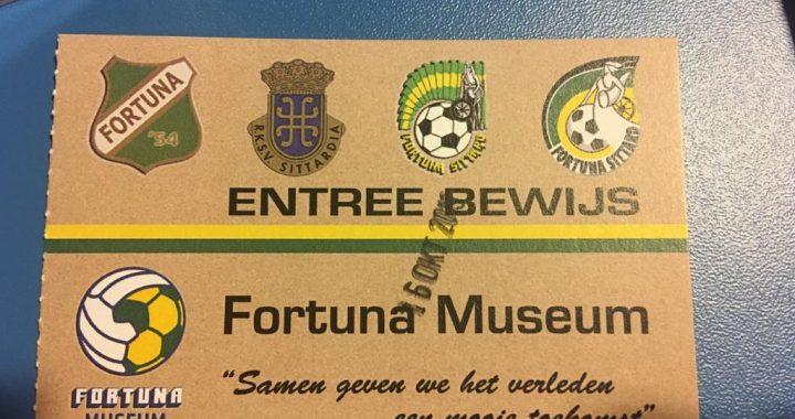BREAKING: Fortuna SC leden mogen gratis naar Museum