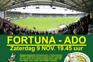 G vrienden (gratis) welkom bij Fortuna- Fc Den Haag
