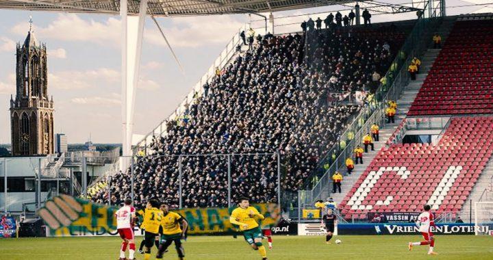 320 fans naar  FC Utrecht uit