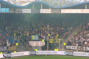 Kaartverkoop uitwedstrijd naar Willem II