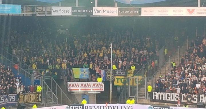 450 fans gaan voor sfeer zorgen in Tilburg