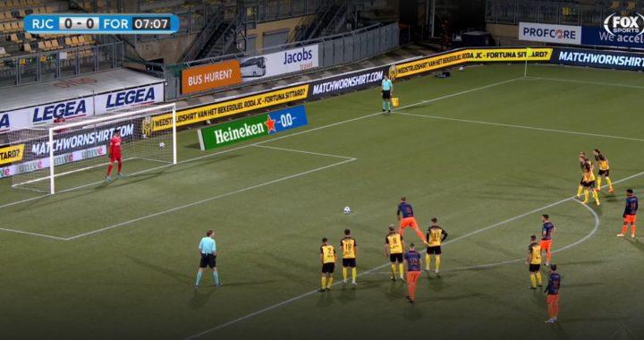 Fortuna Sittard op halve kracht langs machteloos Roda: 0-2