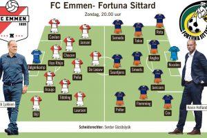 Fortuna Sittard kan laten zien wat het waard is in Emmen