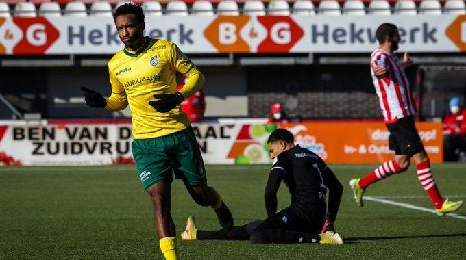 Fortuna Sittard geeft voetballes op Spangen: 1-2