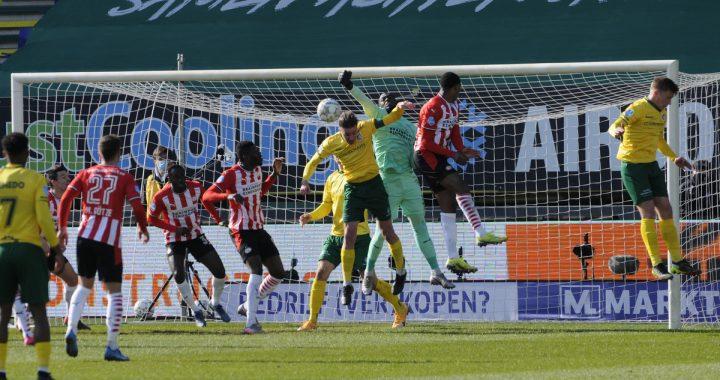 Fortuna Sittard mist waar PSV scoort: 1-3