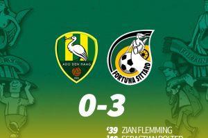 Fortuna Sittard maakt gehakt van ADO: 0-3