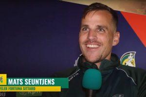 """Mats Seuntjes na 2-2: """"wel een terechte uitslag"""""""