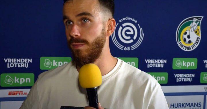 Afscheids-Interview Jorrit Smeets over zijn Fortuna Sittard!