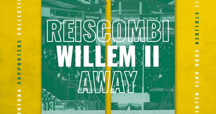 LET OP: Omwisselen ticket Willem II kan pas vanaf 19:00 bij het uitvak, eerder is niet mogelijk
